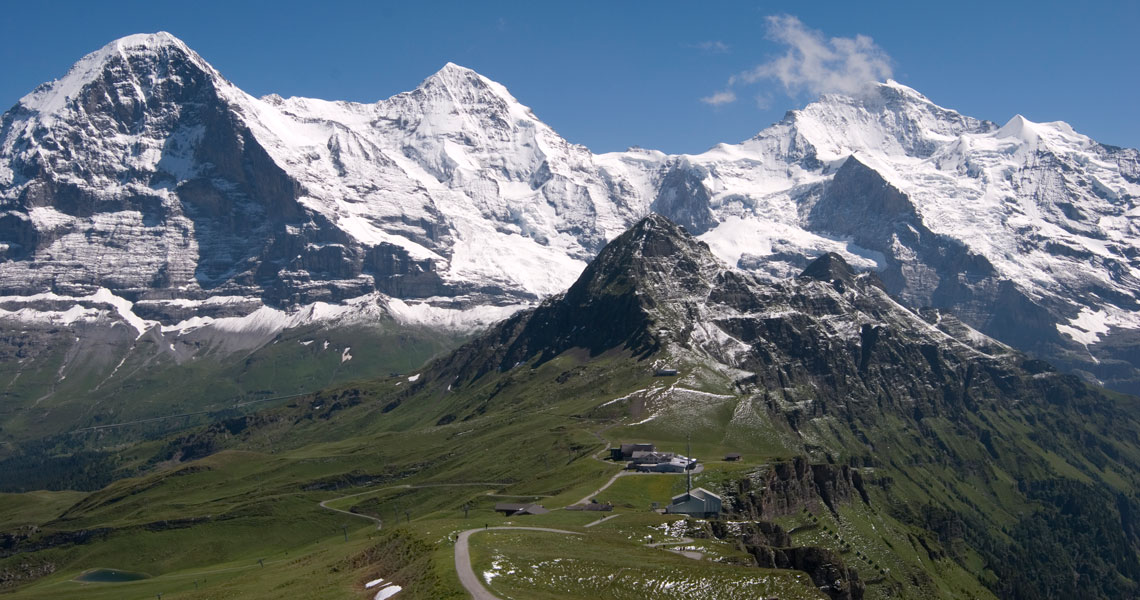 Trekking in Grindelwald, Switzerland